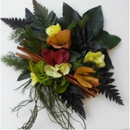 Cadre vegetal hortensia et bougainvillier dvs green gallery