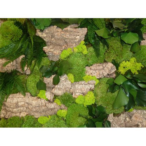 Tableau vegetal stabilise Sous Bois dvs green gallery