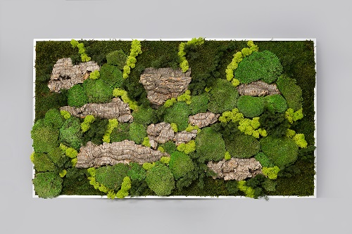 Tableau Maxi végétal stablisé Dvs green gallery