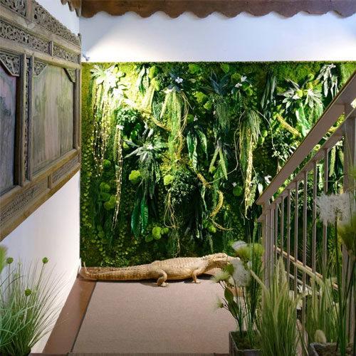 Mur Jungle DVS Green Gallery
