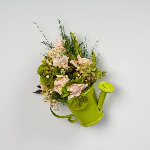 Magnet arrosoir zinc vert végétal stabilisé dvs green gallery
