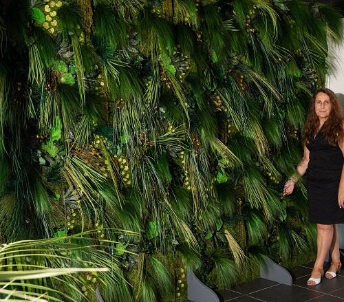 Mur végétal Pampa
